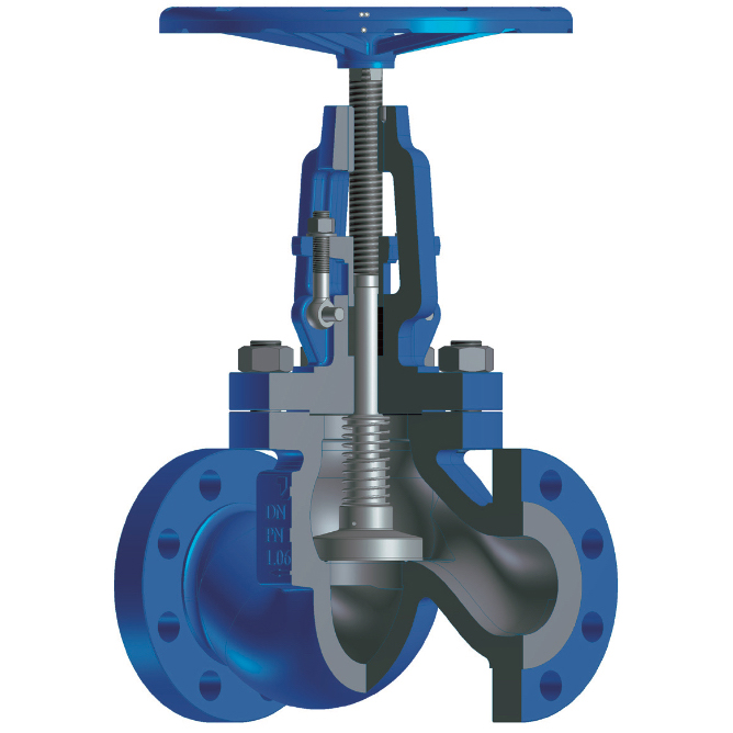 Globe Stop and Check Valves acc. to EN 13709 [VENSC]